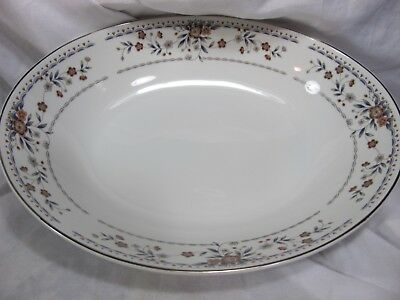 "Claremont Fine  Porcelain China Japan 10 3/8"" Serving Bowl"