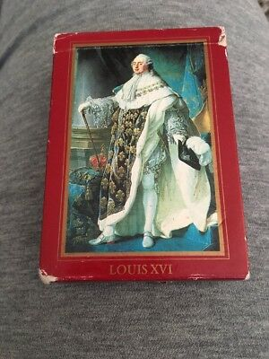 Vintage Made In France Louis XVI Playing Cards