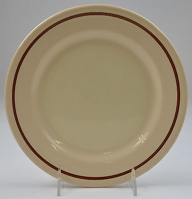 "Sterling China Desert Tan Pattern Dinner Plate 9.125"" Round Restaurant Ware"