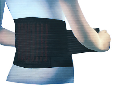 Lower Back Pain Relief Belt Brace adjustable Neoprene Double Pull Lumbar Support
