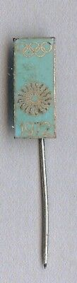 Vintage old Germany Official Olympic badge for the Games in Munich 1972 enamel