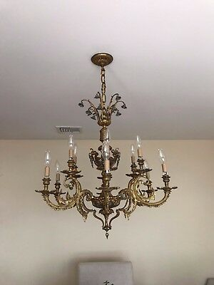 Beautiful Vintage French Chandelier Imported.
