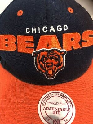 161a8d2c91928 Chicago Bears NFL Football Mitchell Ness Vintage Collection Snapback Cap Hat