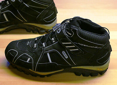 Northwave Gore-Tex Mountainbike Schuh Gr.40, Vibram Sohle inkl. Cleats