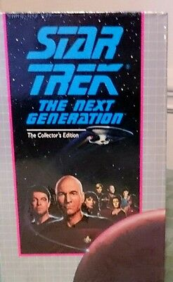 Star Trek the next generation, the collector's edition  vhs