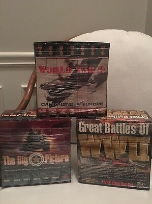 World War II VHS Campaigns In Europe The Big Picture, Great Battles Of WWII