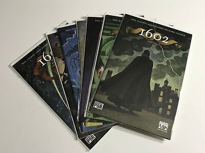 1602 Comics Run/Lot Neil Gaiman #1-7 (1, 2, 3, 4, 5, 6, 7) VF/NM (CJ)