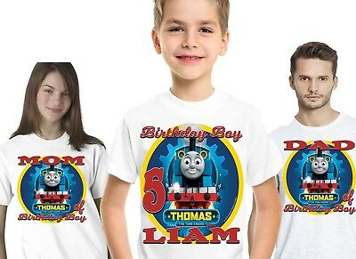 Thomas The Train Birthday Shirt Shirts T-Shirt TShirt Party Supplies Decorations