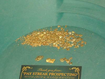 PLACER GOLD CONCENTRATES 5 lbs PAYDIRT / NUGGETS PICKERS FLAKES FINES DREDGE