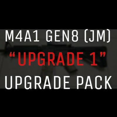 BEAST UPGRADE:  M4A1 GEN8 UPGRADE PACK gel ball gun Barrel T-Piece Hopup Spring