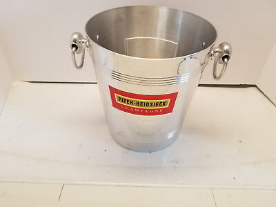 Piper Heidsieck Champagne Ice Bucket Made In France