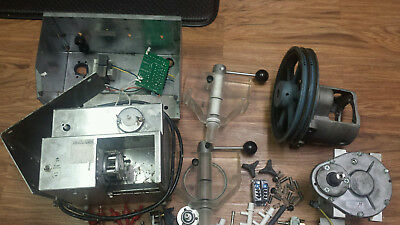Lot of Stoelting Ice Cream Machine Parts, Switches, Pump, Electronic Parts