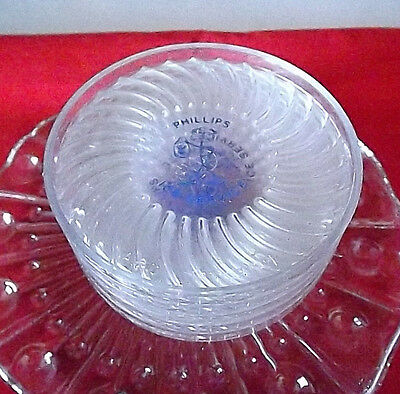(Rare) Antique/vtg Old 5 Phillips Chilly Willy Ice Service Plastic Coasters!