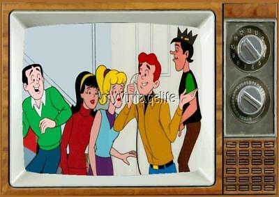 "THE ARCHIES TV Fridge MAGNET 2"" x 3"" SATURDAY MORNING CARTOONS"
