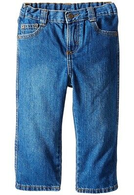 Wrangler authentics Little Boys Jean Toddler 2T Relaxed Fit Blue Adjustable