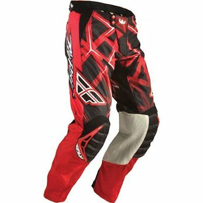 FLY RACING evolution MX motocross MX dirtbike pants red size 30 waist 77cm
