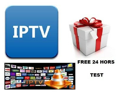 12 MONTHS  IPTV  GIFT FOR  Samsung LG Smart TV MAG BOXES FULL UK NO MISSING
