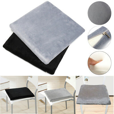 Memory Foam Office Home Car Seat Chair Cushion Back Pain Relief Pillow 40X40CM