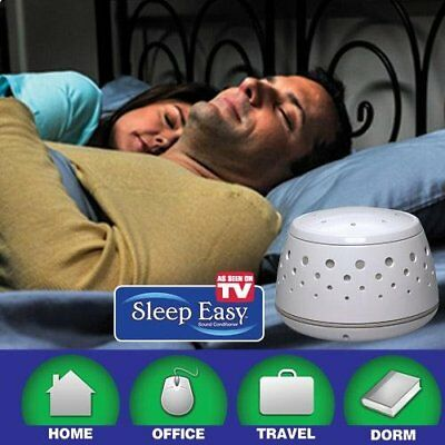 Noise Conditioner Air Sound Machine Therapy Sleep Easy Fall Sleep Restful Relax