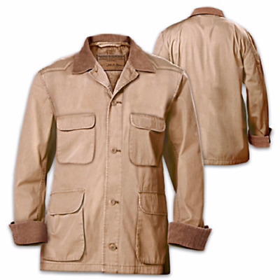 John Wayne Signature Western-Style Stockade Mens Replica Jacket Cotton & Flannel