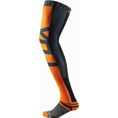 Fox Racing NEW Mx ProForma Orange Adult Motocross Dirt Bike Knee Brace Socks