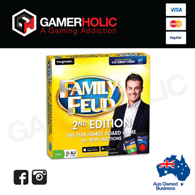 family feud board game instructions australia