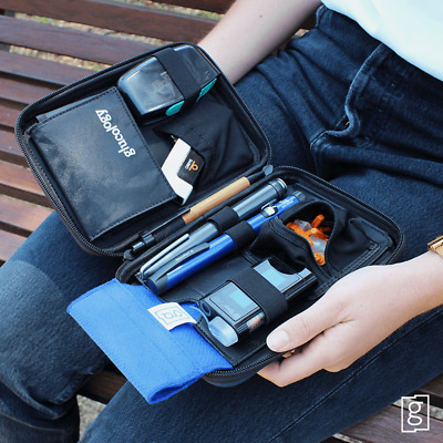 Diabetic Device Carry Case | Glucology Diabetic Organizer | Diabetic accessories
