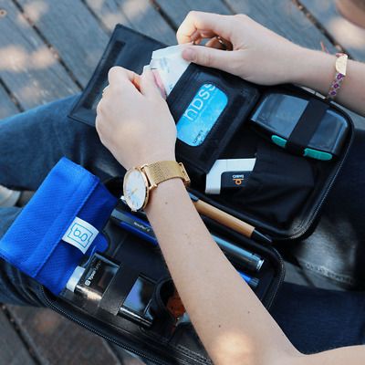 Glucology® Diabetic Portable Case | Diabetes Kitbag Pen Test Strips BGM | Travel