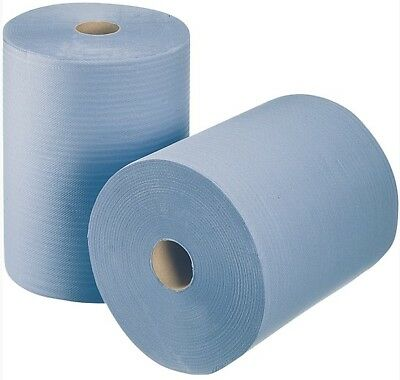 Cleaning Paper Cloth Roll Cleaning Cloths Paper papier-rollen Blue 1000 TEAR OFF