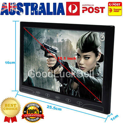 """10"""" TFT LED Touch Button Screen Display HDMI/VGA Security CCTV Monitor AU STOCK"""