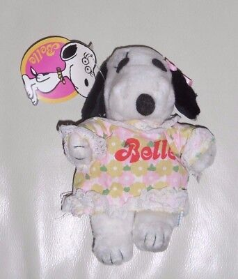 BELLE -SNOOPY,PEANUTS - PELUCHES - BUTTERFLY ORIGINALS - 70s/80s VINTAGE '70/'80