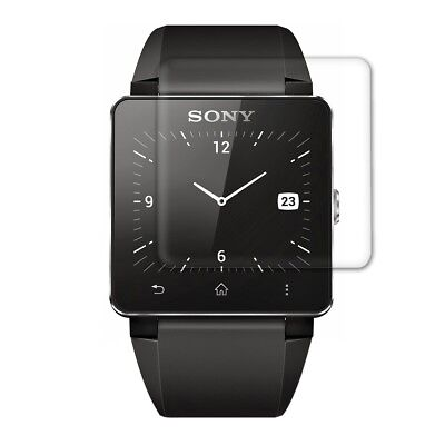 Display Schutz Folie für Sony Smartwatch 2 Klar Transparent Displayfolie Handy