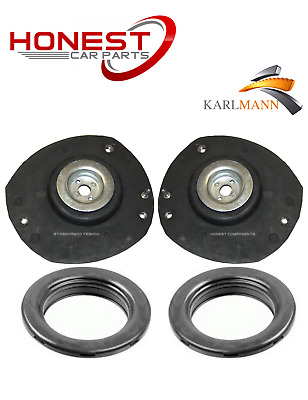 For PEUGEOT 206 206cc 1998-2009 FRONT TOP STRUT MOUNTINGS & BEARINGS KIT X2 L&R