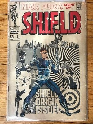 Nick Fury, Agent of SHIELD #4 (Sep 1968, Marvel)