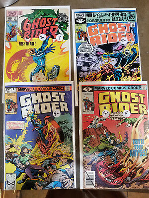 Ghost Rider lot - 39, 47, 64 and 78 - VG/F or better