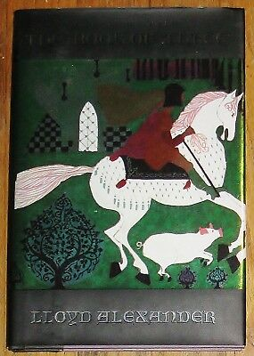 THE BOOK OF THREE : by Lloyd Alexander : hardcover : Chronicles of Prydain