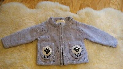 Irelands Eye Knitwear 100% Wool Sweater Baby/Kids 0-1 yrs Sheep/Alpaca NEW w/tag
