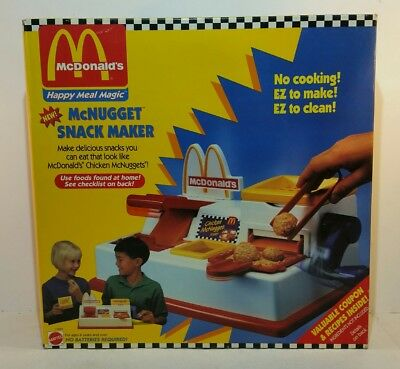 NEW NOS 1993 McDonalds Happy Meal Magic McNugget Snack Maker! Rare, SEALED!