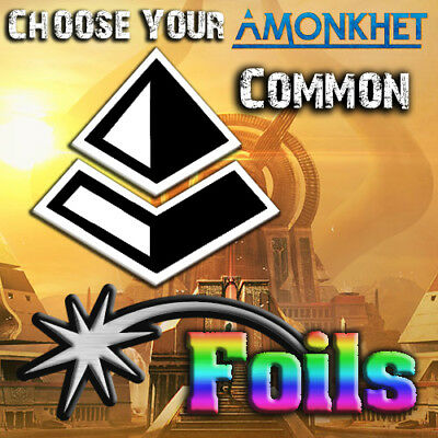 Choose Your Amonkhet Common *FOIL* Cards - AKH MTG M/NM