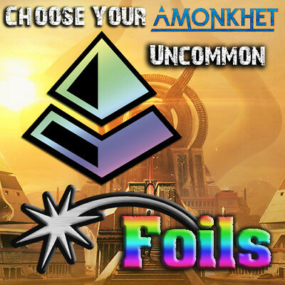 Choose Your Amonkhet Uncommon *FOIL* Cards - AKH MTG M/NM