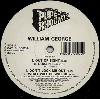 William George   – Out Of Sight