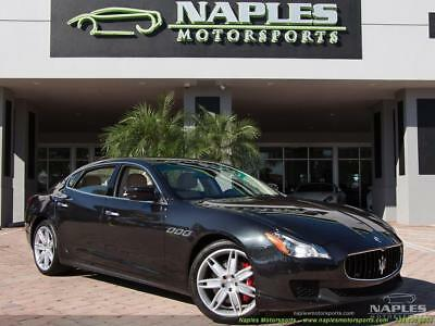 2014 Maserati Quattroporte S Q4 2014 Maserati Quattroporte S Q4 2 YEAR WARRANTY PRE-OWNED CERTIFIED