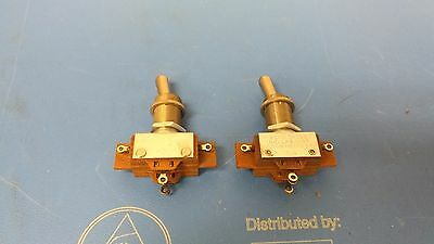 Lot of 2 pcs VINTAGE ARROW-HART ON/OFF TOGGLE SWITCH 3A 250V NOS