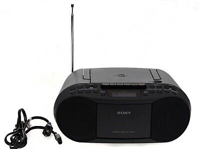 Sony CFD-S70 CD Cassette Tape Player AM/FM Radio Boombox