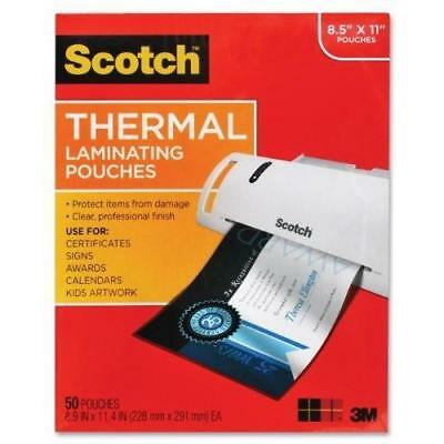 50Pk Letter Thermal Pouches