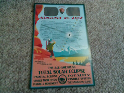 VERY RARE!  National Park Service Eclipse Glasses for 2017 Great Solar Eclipse