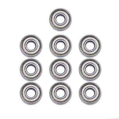 10pcs 608/623/625/626 ZZ Miniature Deep Groove Ball Bearings for 3D Printer