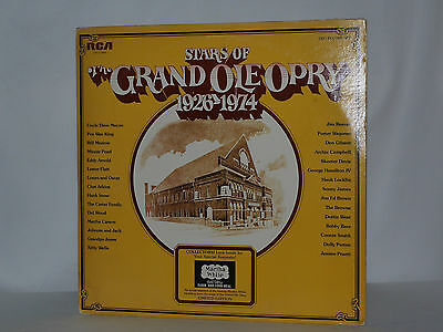 Stars of the Grand Ole Opry 1926-1974 2 LPs RCA CPL2-0466 USA EX
