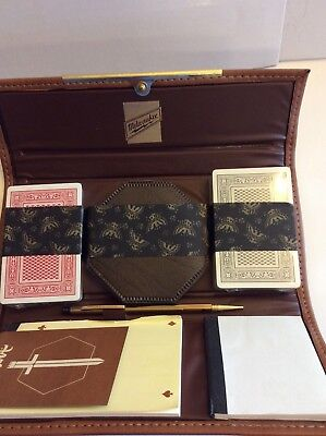 Vintage Milwaukee Electric Tools Bridge Set Playing Cards New