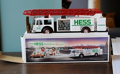 Hess Toy Fire Truck 1989 In The Original Box...Nice Gift